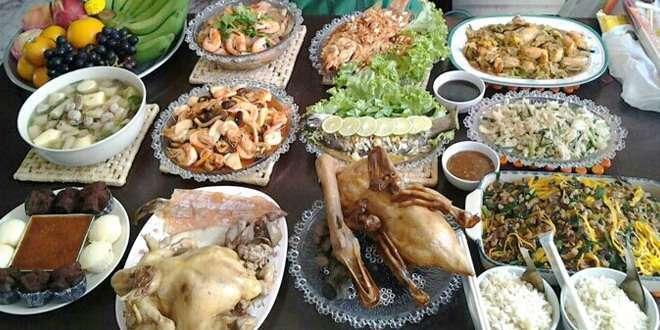 อาหารมงคลวันตรุษจีน