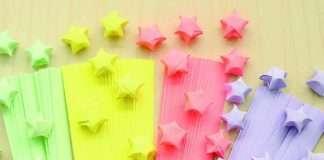 รายได้เสริม พับดาวกระดาษ งานประดิษฐ์ทำที่บ้าน