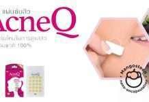 ผลิตภัณฑ์แผ่นแปะสิว AcneQ