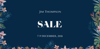 JIM THOMPSON SALE 2018