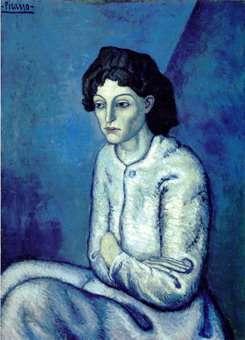 Femme aux Bras Croises by Pablo Picasso